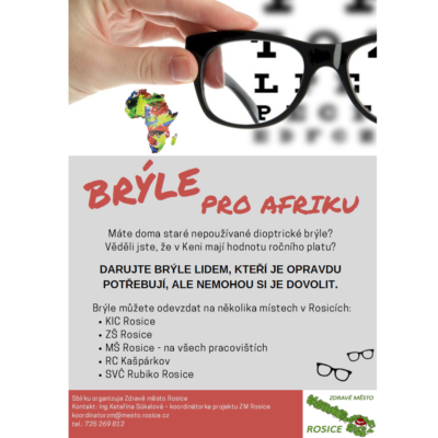 Brýle pro Afriku